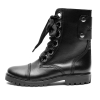 ZADIG VOLTAIRE Low-slung leather rangers boots - 621AW19/20