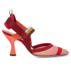 FENDI COLIBRI RED SLINGBACK PUMPS - 631AW19/20