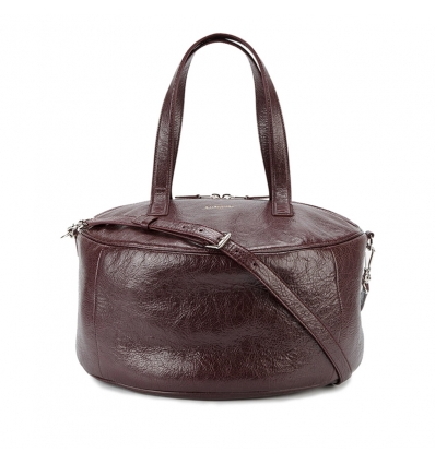 Balenciaga Air textured-leather tote