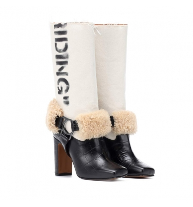 Off-White Riding leather boots - 191AW1819