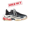Balenciaga black triple s trainers - 260W1819