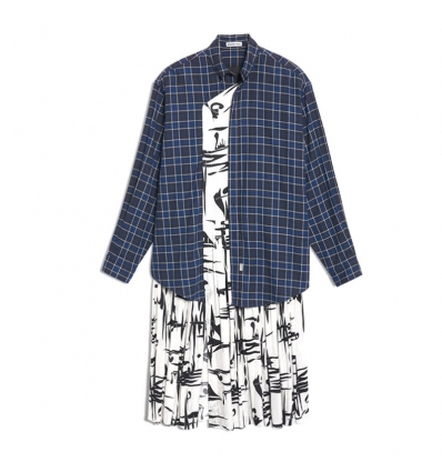 Balenciaga shirt dress - 271W1819