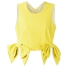 MSGM cropped bow detail top