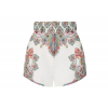 Zimmermann Ninety-Six belted printed linen shorts - 319SS19