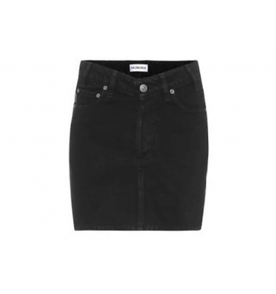 BALENCIAGA High-rise denim skirt - 396SS19