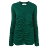 MSGM ruched sweater