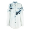 MSGM three-quarter ruffled blouse