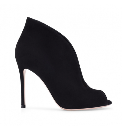 Gianvito Rossi Vamp black suede bootie - 526AW19/20