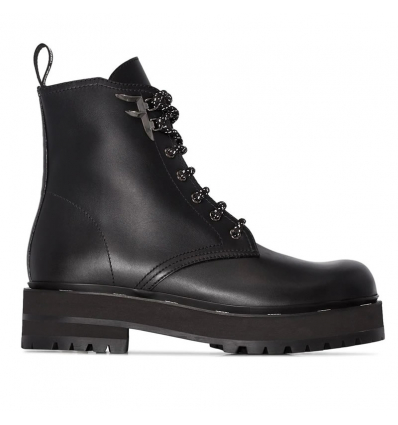 FENDI 50mm LACE-UP BOOTS - 629AW19/20