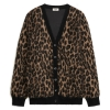 Celine cardigan in jacquard mohair - 765AW19/20