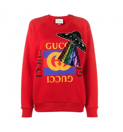 Gucci UFO Embroidered Sweatshirt - 21AW1718