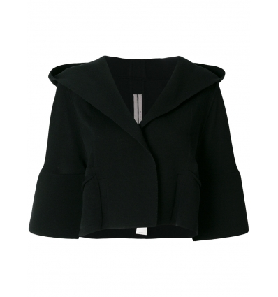 Rick Owens ructured hooded jacket - 55SS18