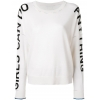 Zadig&Voltaire slogan printed sweater - 68SS18