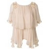 Chloe ruffled fringed blouse - 76SS18