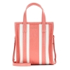 Balenciaga striped leather shopping bag -  14SS17