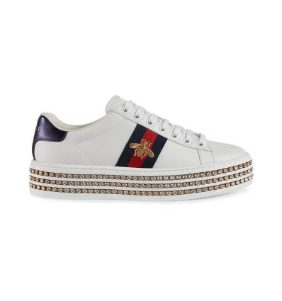 Gucci Ace sneakers with crystals - 129SS18