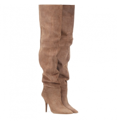 YEZZY Suede over-the-knee boots - 240W1819