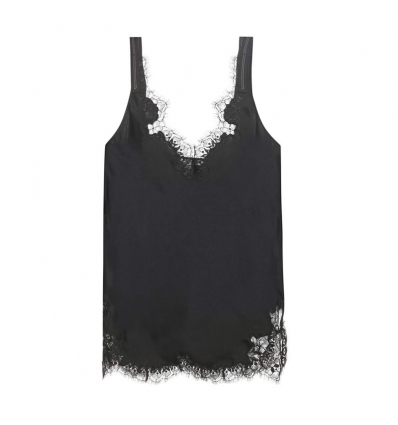 Helmut Lang Lace-trimmed camisole - 25SS17
