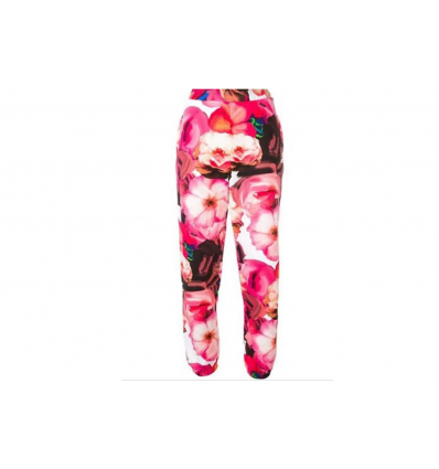 MSGM tapered jogging floral bottoms - 343SS19