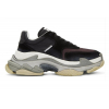 BALENCIAGA TRIPLE S BLACK NURGUNDY - 447SS19