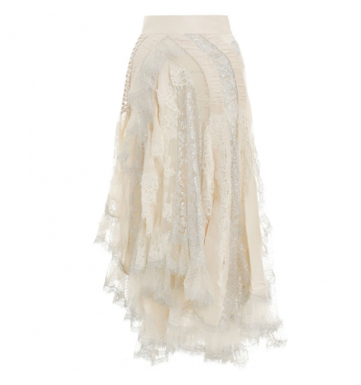 ZIMMERMANN SABOTAGE LACE SKIRT - 683AW19/20