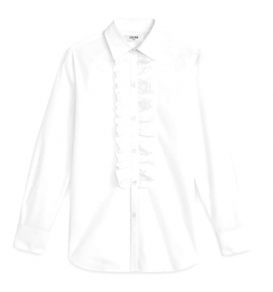 Celine classic shirt with frill collar - 753AW19/20