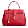 CELINE 16 BAG IN SATINATED CALFSKIN RED - 755AW19/20