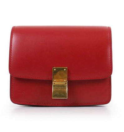 CELINE CLASSIC BOX BAG RED - 764AW19/20