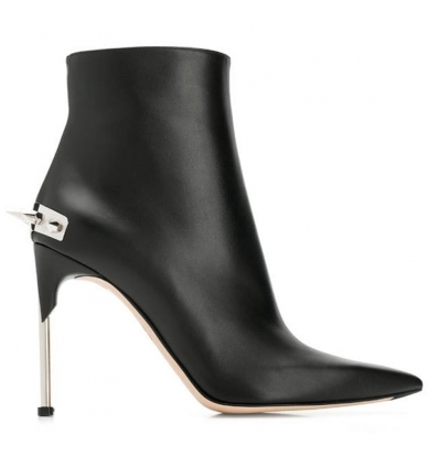 ALEXANDER MCQUEEN punk stud ankle boots - 808AW19/20