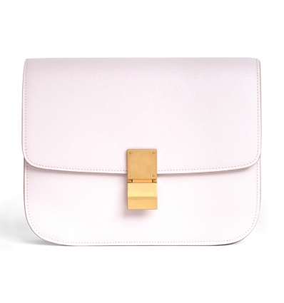 CELINE PALE PINK MEDIUM CLASSIC BAG IN CALFSKIN - 1063ASS20
