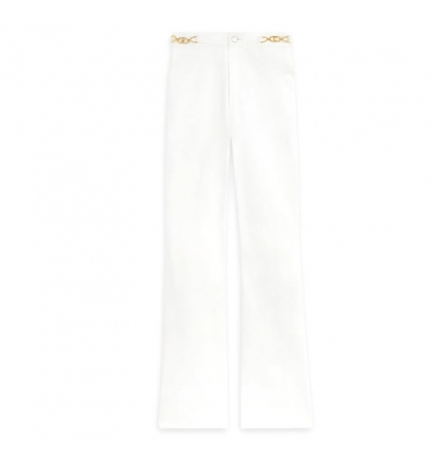 CELINE FLARED JEANS IN WHITE DENIM - 1158ASS20