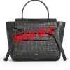 CELINE NANO BELT BAG IN CROCODILE EMBOSSED CALFSKIN - 1062ASS20