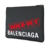 BALENCIAGA CLUTCH LOGO - 1083ASS20