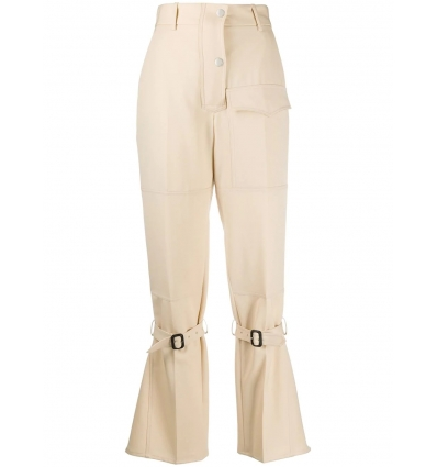 VICTORIA BECKHAM 1320WTR001726B HONEY TAPERED CARGO PANTS    - 1359AW2021