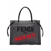 FENDI 8BH379AD6BFORP3 LOGO-EMBROIDERED TOTE BAG  - 1477AW2021