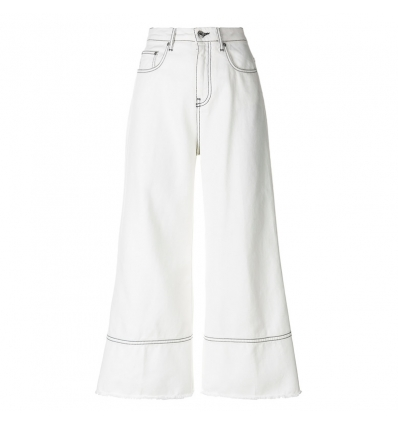 MSGM cropped flare pants - 11SS18