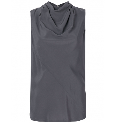 Rick Owens draped neck top - 54SS18