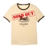 CELINE 114L2X575.11MR BEIGE T-SHIRT - 1839SS2021