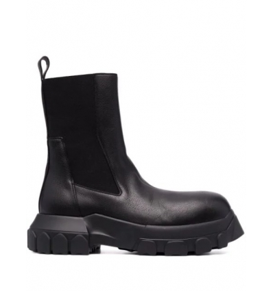 RICK OWENS RP02A7881LGE BLACK BEATLE BOZO TRACTOR - 2454AW21/22