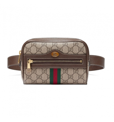 Gucci brown Ophidia GG Supreme small belt bag - 157SS18