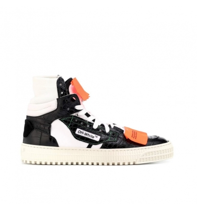 Off-White Embossed leather sneakers - 187W1819