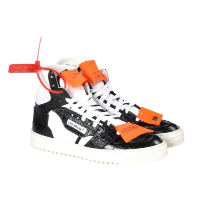Off White black off - court 3.0. sneakers - 247W1819