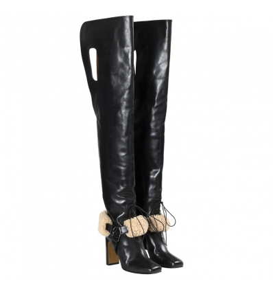Off White equestrian high boots - 251W1819