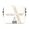 Off White sculpture canvas binder bag - 255W1819