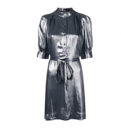 ZADIG & VOLTAIRE foil shirt dress - 435SS19