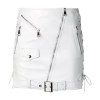 MANOKHI BIKER2 WHITE SKIRT - 477SS19