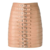 MANOKHI DITA nude belted mini skirt - 481SS19